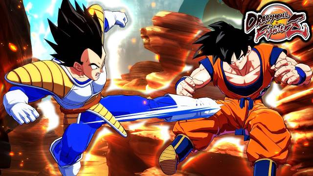 Dragon Ball FighterZ Goku Vegeta base