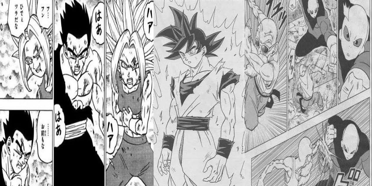 Dragon Ball Super manga 39