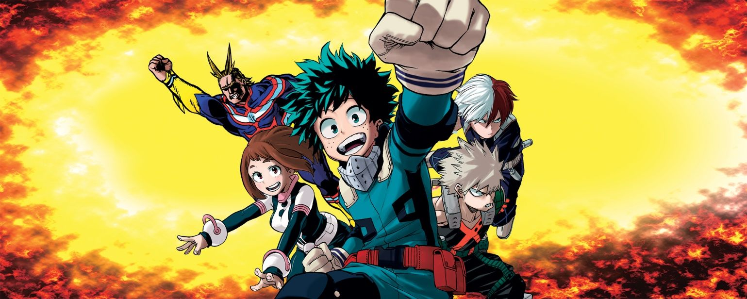 Boku no Hero Academia One Shot All Might